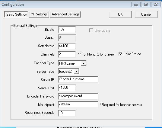 Edcast Basic Settings
