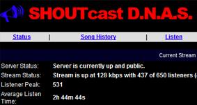 Shoutcast Problem Port 80