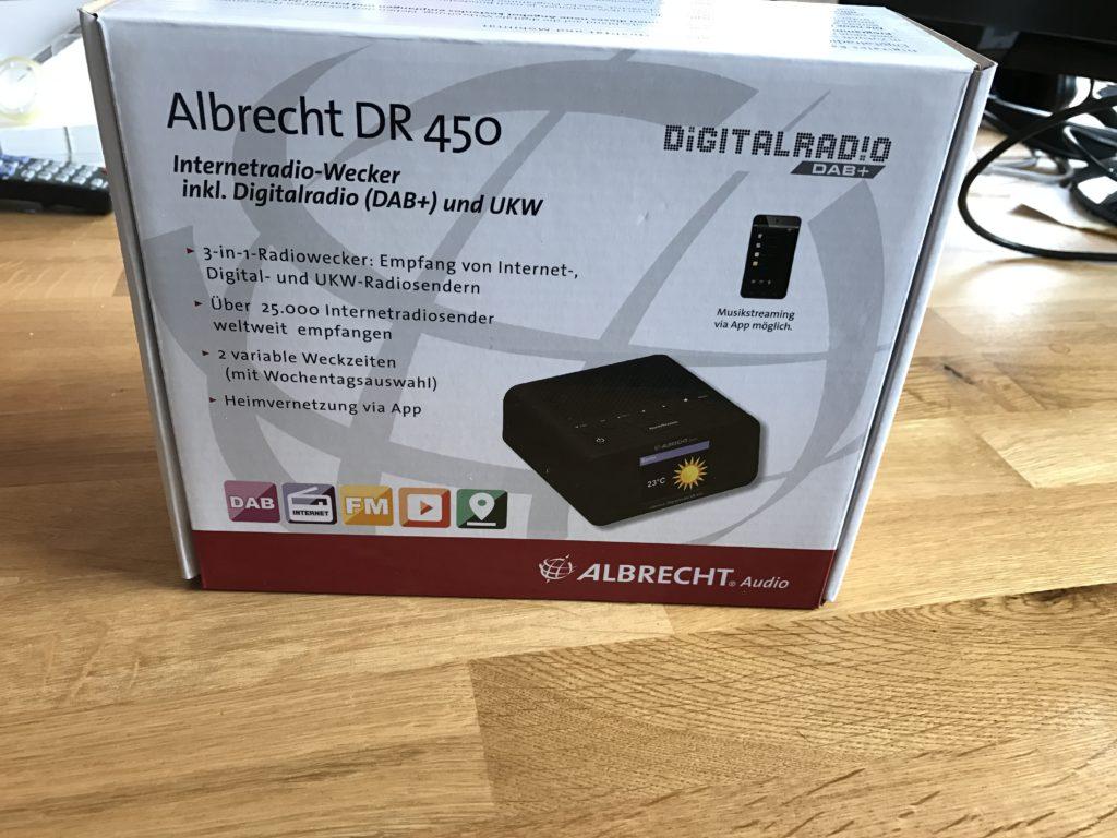 Albrecht DR 450
